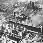 Part of the Polish capital, Warsaw, destroyed in German bombings, September 1939. (IPN)