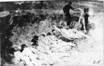 A mass execution in the Stutthof concentration camp. (IPN)