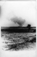 A view of the death camp in Treblinka. Visible smoke above the camp. (IPN)