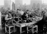 Compulsory labor workshops in the Lublin ghetto (IPN)